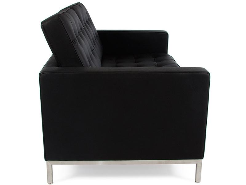 Bild Designer-Möbel Lounge Knoll 2 Sitzer - Schwarz