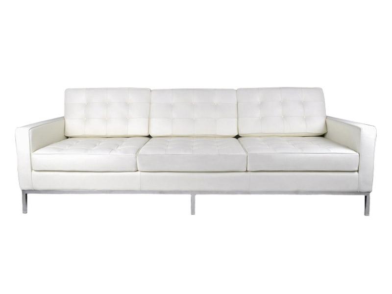 Bild Designer-Möbel Lounge Knoll 3 Sitzer - Weiß