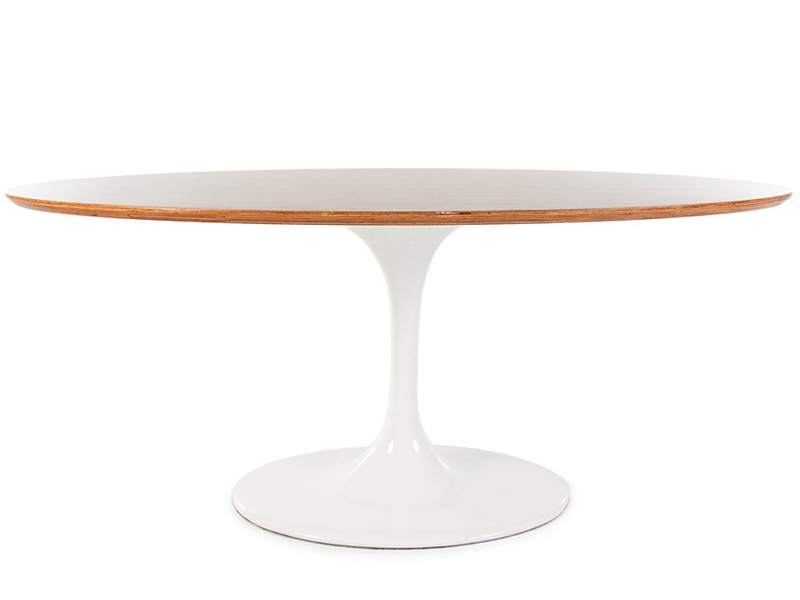 Oval tisch tulip saarinen for Tisch design oval