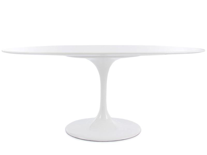 Oval Tisch Saarinen Mit 6 Stühlen