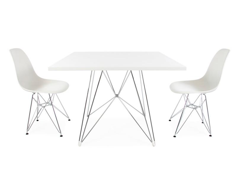 Quadratischen Tisch Eiffel Mit 2 Stühlen