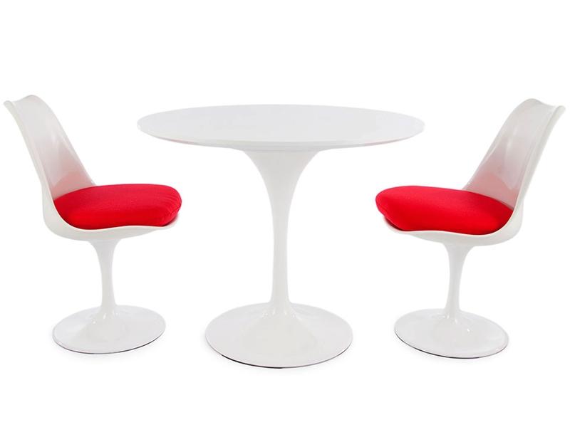 Tulip Tisch Saarinen Mit 2 Stühlen