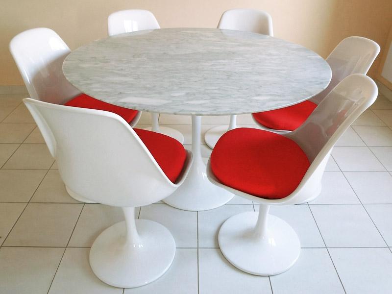 Bild Designer-Möbel Tulip Tisch Saarinen