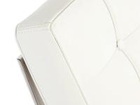 Bild Designer-Möbel Barcelona Sofa 3 Sitzer - Weiß