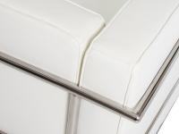 Bild Designer-Möbel COSY2 Sessel 2 Sitzer Breit-Weiß