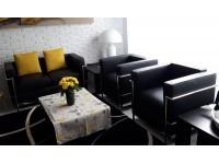 Bild Designer-Möbel COSY2 Sessel 2-Sitzer - Schwarz
