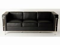 Bild Designer-Möbel COSY2 Sessel 3-Sitzer - Schwarz