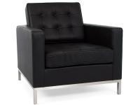 Bild Designer-Möbel Knoll Lounge Sessel - Schwarz