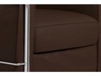 Bild Designer-Möbel LC2 Sessel Le Corbusier - Braun