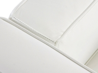 Bild Designer-Möbel LC3 Le Corbusier 2 Sitzer Breit-Weiß