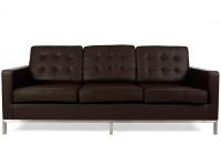 Bild Designer-Möbel Lounge Knoll 3 Sitzer - Braun