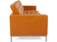 Bild Designer-Möbel Lounge Knoll 3-Sitzer - Karamell