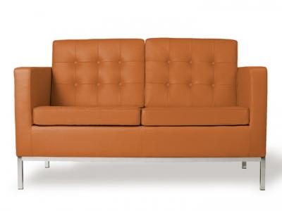 Bild Designer-Möbel Lounge Knoll 2-Sitzer - Karamell