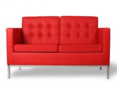 Bild Designer-Möbel LoungeKnoll 2-Sitzer - Rot
