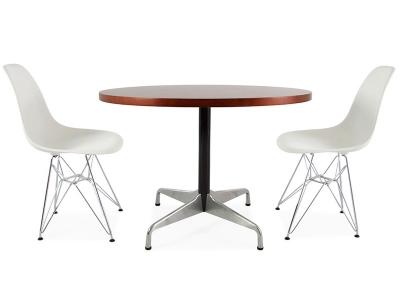 Bild Designer-Möbel Tisch Eames Contract und 2 Stühlen
