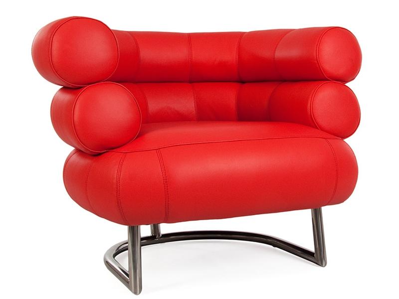 Bild von Stuhl-Design Bibendum Sessel - Rot
