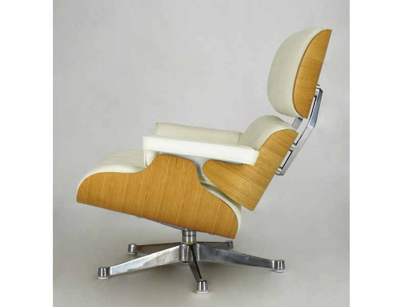 Bild von Stuhl-Design Eames Lounge Sessel - Nußbaum hell