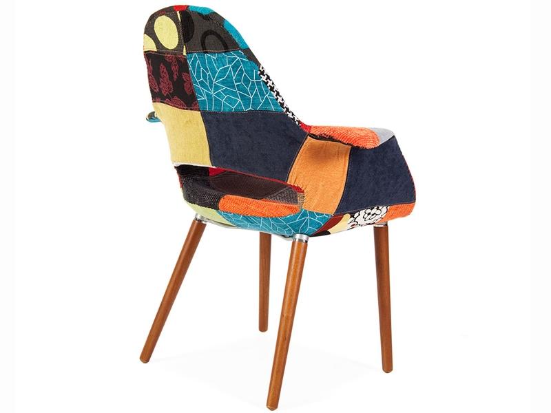 eames organic sessel patchwork. Black Bedroom Furniture Sets. Home Design Ideas