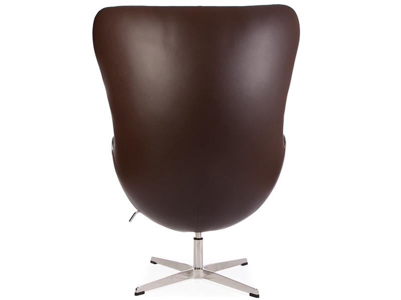 Bild von Stuhl-Design Egg Chair Arne Jacobsen - Braun