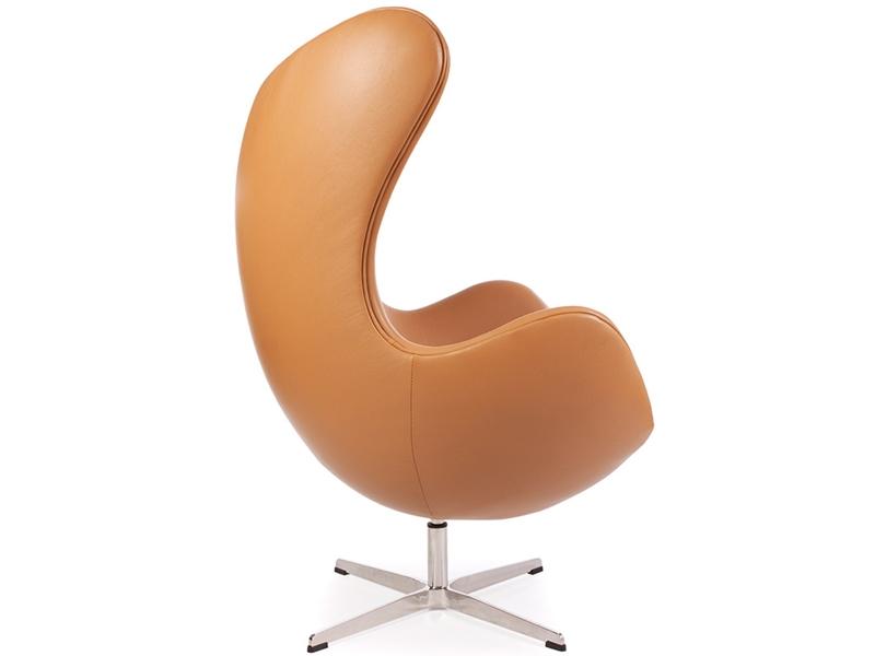 Bild von Stuhl-Design Egg Chair Arne Jacobsen - Karamell
