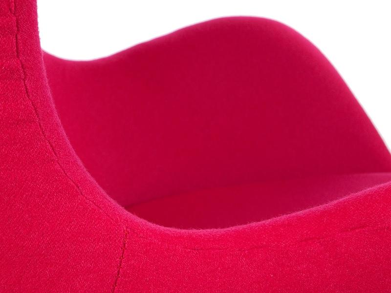 Bild von Stuhl-Design Egg Chair Arne Jacobsen - Rosa
