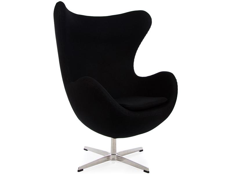 Bild von Stuhl-Design Egg Chair Arne Jacobsen- Schwarz
