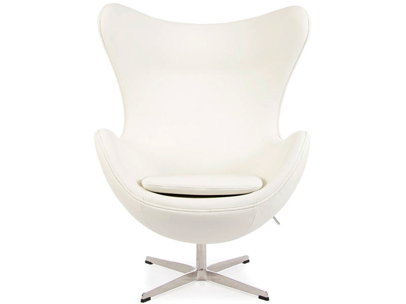 Bild von Stuhl-Design Egg Chair Arne Jacobsen - Weiß