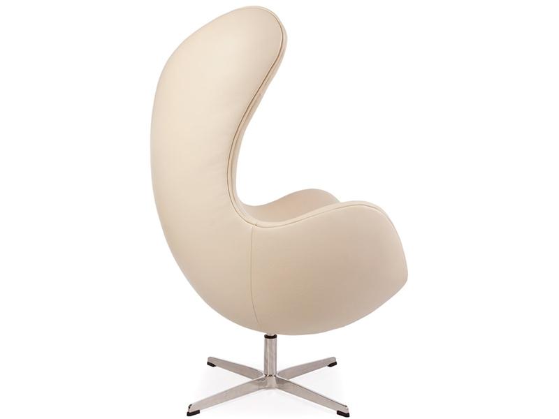 egg sessel arne jacobsen beige. Black Bedroom Furniture Sets. Home Design Ideas