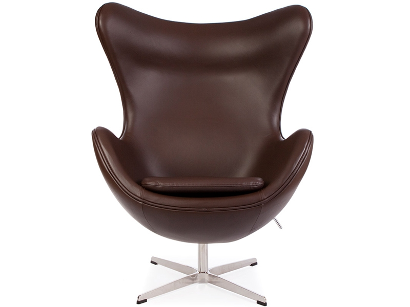 Egg sessel arne jacobsen braun for Sessel jacobsen