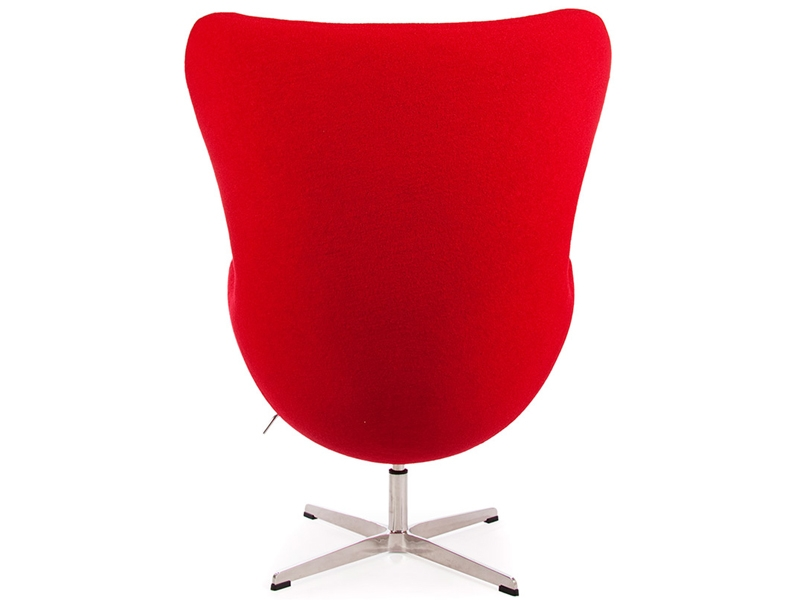 Egg Sessel Arne Jacobsen  Rot