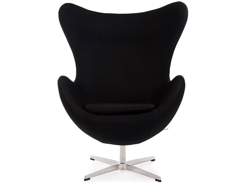 Bild von Stuhl-Design Egg Sessel Arne Jacobsen- Schwarz