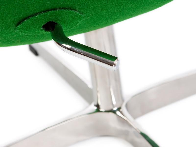 Bild von Stuhl-Design Egg Sessel Arne Jacobsen - Smaragd