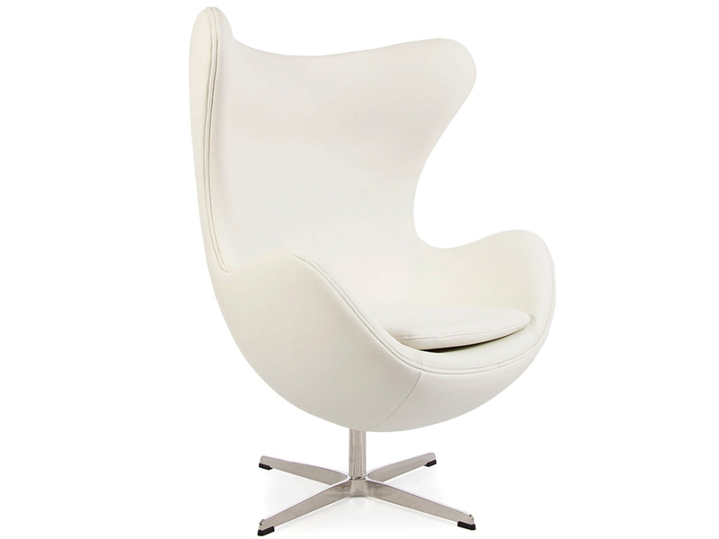 Egg sessel arne jacobsen wei for Sessel jacobsen