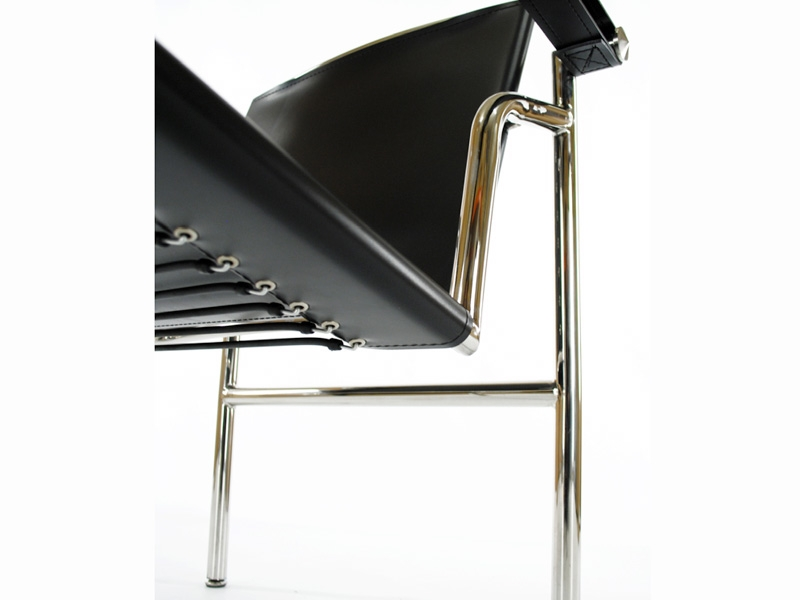 Bild von Stuhl-Design LC1 Stuhl Le Corbusier - Schwarz