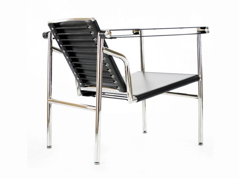 lc1 stuhl le corbusier schwarz. Black Bedroom Furniture Sets. Home Design Ideas