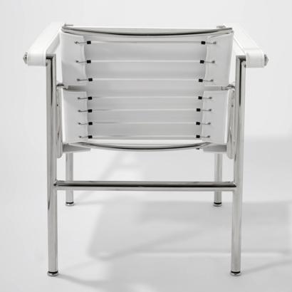 Bild von Stuhl-Design LC1 Stuhl Le Corbusier - Weiß