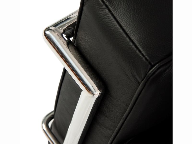 Bild von Stuhl-Design LC2 Sessel Breit Le Corbusier - Schwarz
