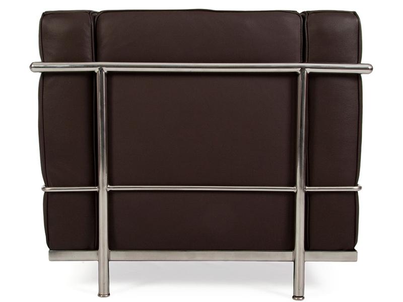 Bild von Stuhl-Design LC2 Sessel Le Corbusier - Dunkelbraun