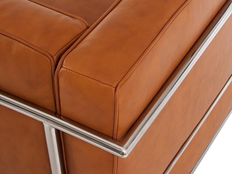 Bild von Stuhl-Design LC2 Sessel Le Corbusier - Karamell