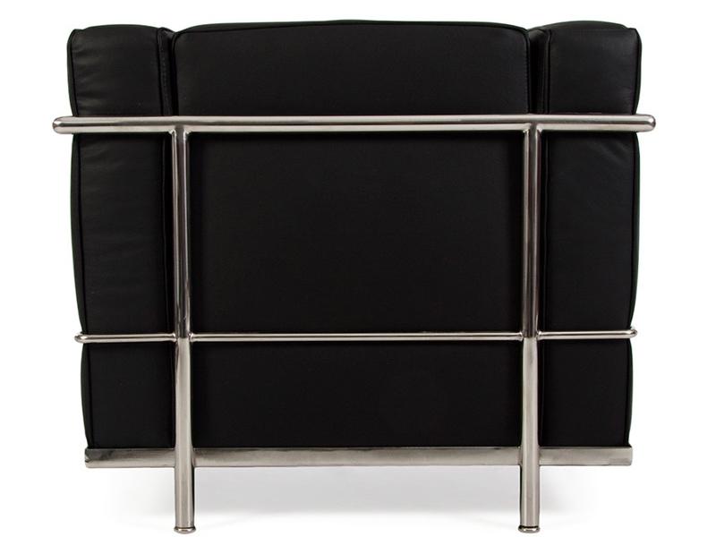 Bild von Stuhl-Design LC2 Sessel Le Corbusier - Schwarz