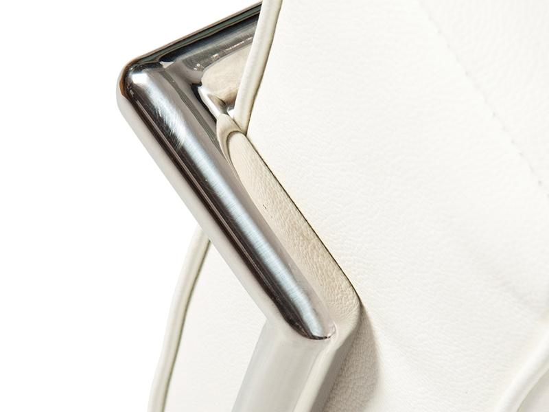 Bild von Stuhl-Design LC2 Sessel Le Corbusier - Weiß