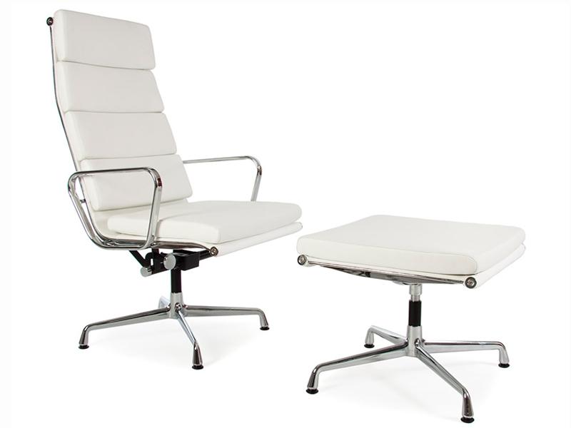 lounge stuhl ea222 wei. Black Bedroom Furniture Sets. Home Design Ideas