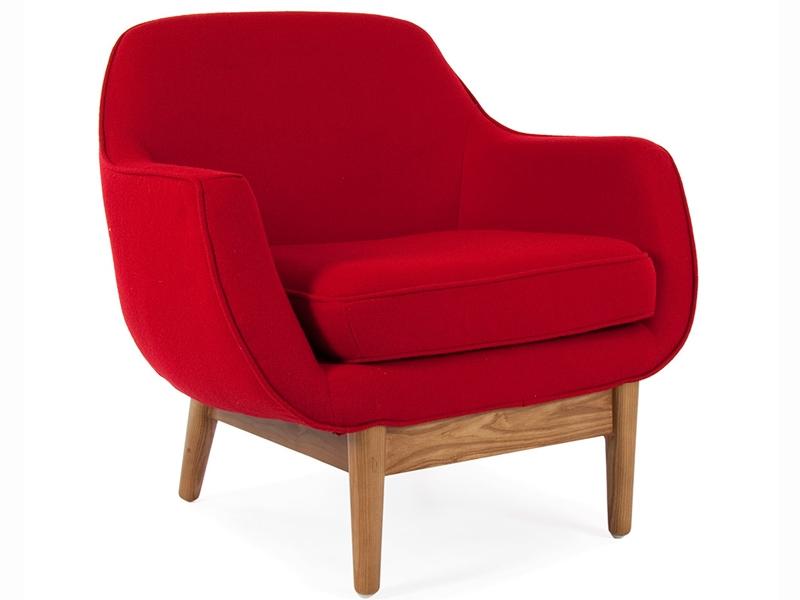 Bild von Stuhl-Design Lusk Sessel - Rot