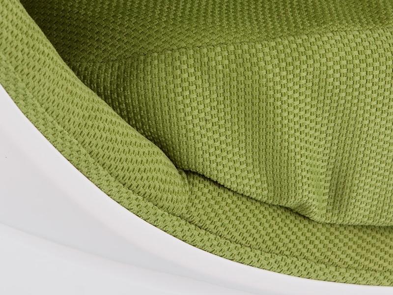 Bild von Stuhl-Design Ovaler Egg Sessel - Grün