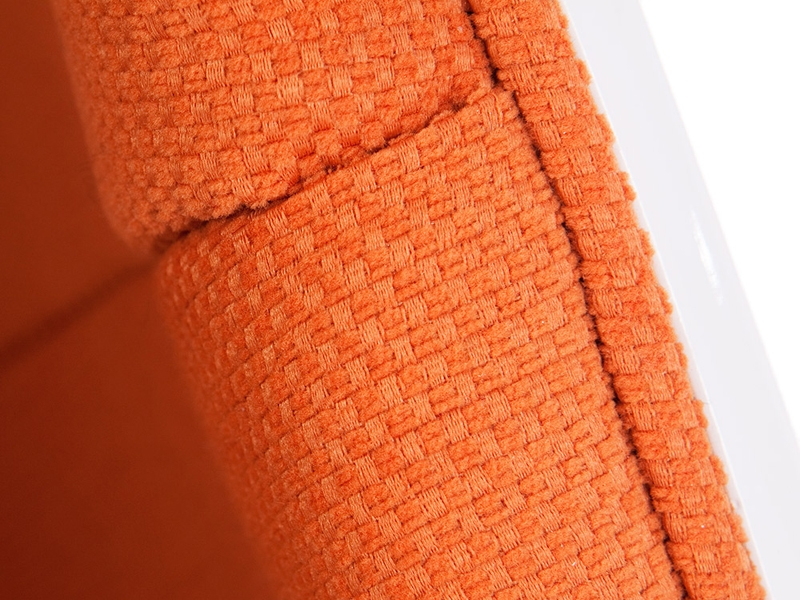 Bild von Stuhl-Design Ovaler Egg Sessel - Orange