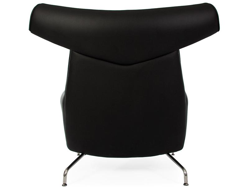 Bild von Stuhl-Design Ox Wegner Sessel - Schwarz