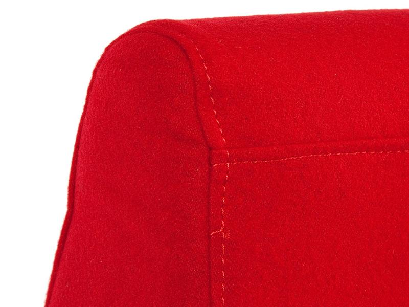 Bild von Stuhl-Design Panton Amöbe Sessel - Rot