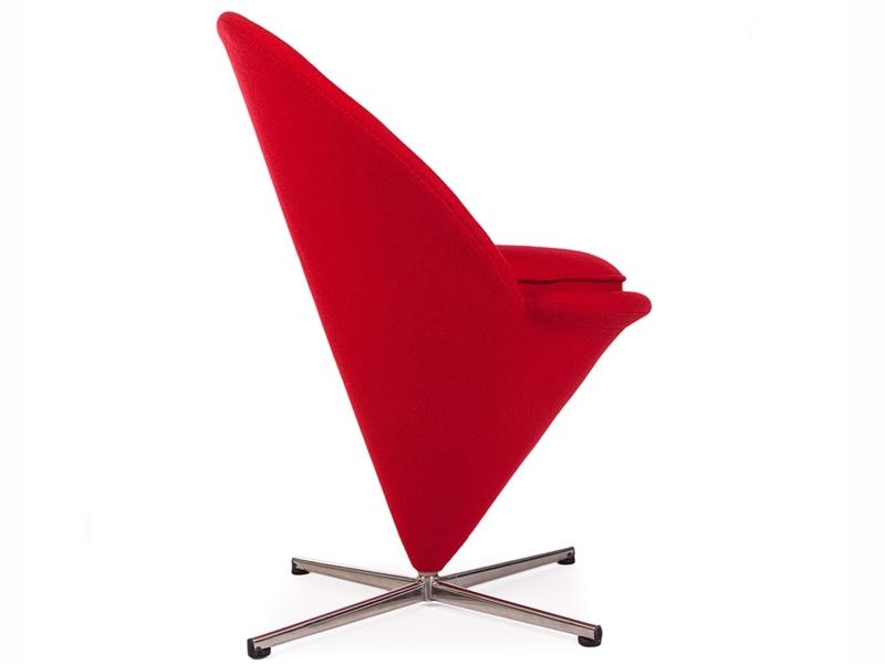 panton cone sessel rot. Black Bedroom Furniture Sets. Home Design Ideas