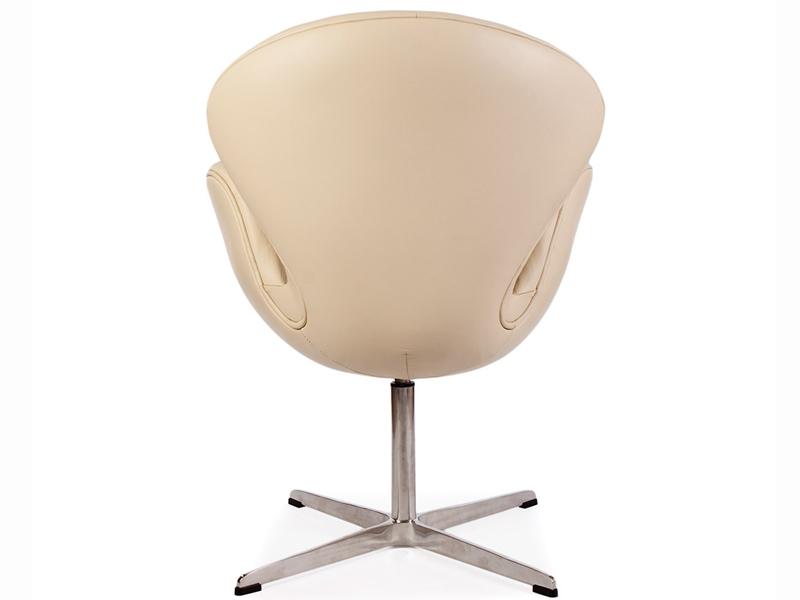 Bild von Stuhl-Design Swan Chair Arne Jacobsen - Beige