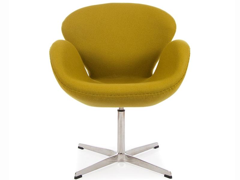 Bild von Stuhl-Design Swan Chair Arne Jacobsen - Olivgrün